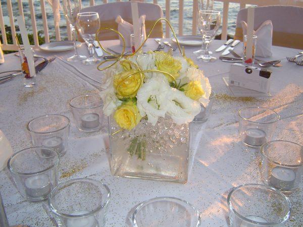 wedding flowerpots